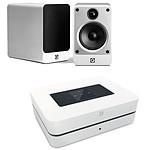 Bluesound Powernode 2 Blanc + Q Acoustics Concept 20 Blanc