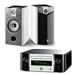 Marantz Melody Stream M-CR611 Blanc + Focal Chorus 706 V White Style