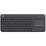Logitech Wireless Touch Keyboard K400 Plus Noir