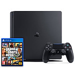 Sony PlayStation 4 Slim (500 Go) + Grand Theft Auto V - GTA 5