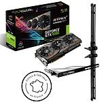 ASUS GeForce GTX 1080 ROG STRIX-GTX1080-A8G-GAMING + TILTeek FixCard