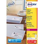 Avery Etiquettes adresses Faciles à décoller x 2100