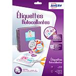 Avery Etiquettes autocollantes 199.6 x 289.1 mm x 12