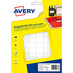 Avery Etiquettes de bureau multi-usages 16 x 22 mm x 1152