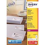 Avery Etiquettes adresse 63.5 x 33.9 mm x 2400