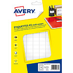 Avery Etiquettes de bureau multi-usages 12 x 18.3 mm x 1792