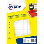 Avery Etiquettes de bureau multi-usages 12 x 18.3 mm x 1792