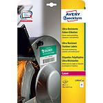 Avery Etiquettes ultra-résistantes en polyéthylène 99.1 x 67.7 mm x 80