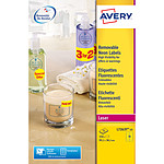 Avery Etiquettes fluorescentes laser 38.1 x 99.1 mm x 350