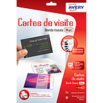 Avery Quick&Clean 80 cartes de visite 85 x 54 mm