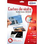 Avery Quick&Clean 40 cartes de visite  85 x 54 mm