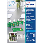 Avery Quick&Clean 100 cartes de visite  85 x 54 mm