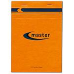 Bloc Master agrafé en-tête 21 x 29.7 cm quadrillé 5 x 5 100 feuilles