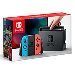 Nintendo Switch + Joy-Con droit (rouge) et gauche (bleu)