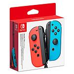 Nintendo Switch Joy-Con Droit & Gauche Rouge/Bleu