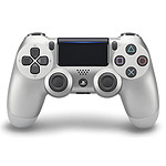 Sony DualShock 4 v2 (plata)