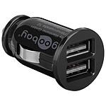 Mini chargeur double USB 3.1A sur prise allume-cigare