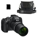 Nikon Coolpix B700 Noir + CS-P08 + Carte SDHC 8 Go