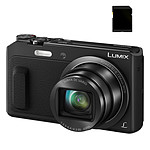 Panasonic DMC-TZ57 Noir SD Pack
