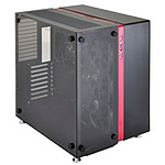 Lian Li PC-O9WRX (Negro/Rojo)