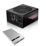 IN WIN Classic Series C 750W 80PLUS Platinum + Power Bank 904 Argent