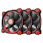 Thermaltake Riing 12 Rouge x3