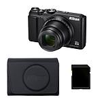 Nikon Coolpix A900 Noir + CS-P17 + Carte SDHC 8 Go