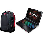 MSI GE62 7RE-024XFR Apache + Hecate Backpack Offert