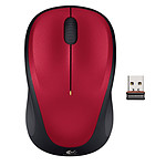 Logitech Wireless Mouse M235 (Rouge)