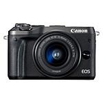 Canon EOS M6 Noir + EF-M 15-45 mm IS STM