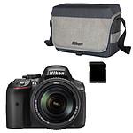 Nikon D5300 + AF-S DX NIKKOR 18-140MM + CF-EU11 + Carte SDHC 8 Go