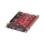 "Adaptateur RAID 2x M.2 NGFF SSD vers SATA 2,5"""