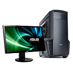 "LDLC PC10 Fortress + ASUS 24"" LED 3D - VG248QE"