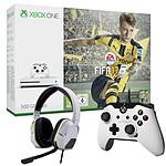 Microsoft Xbox One S (500 Go) + FIFA 17 + 2 Accessoires OFFERTS !