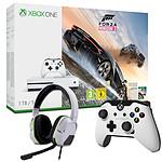Microsoft Xbox One S (1 To) + Forza Horizon 3 + 2 Accessoires OFFERTS !