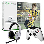Microsoft Xbox One S (1 To) + FIFA 17 + 2 Accessoires OFFERTS !