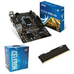 Kit Upgrade PC Celeron G3930 MSI B250M PRO-VD 8 Go