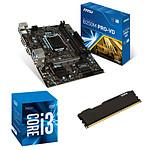 Kit Upgrade PC Core i3 MSI B250M PRO-VD 8 Go