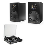 Audio-Technica AT-LP60BT Noir + Triangle Elara LN01A Noir mat