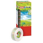 tesa Tesafilm Eco&Clear 8 rouleaux 33m x 19mm
