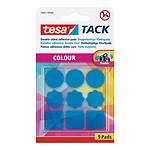 tesa TACK Couleur 9 pastilles (bleu)