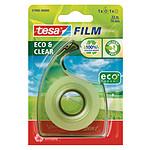 tesa Tesafilm Eco&Clear 1 rollo 33m x 19mm + 1 desbobinador