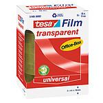 tesa tesafilm transparente 8 rollos 66m x 19mm