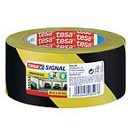 tesa cinta adhesivo de señalización negro/amarillo