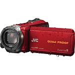 JVC GZ-R435 Rouge + Carte SDHC 8 Go