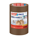 tesa Emballer Extra Strong Ruban d'emballage 66m x 50mm Marron x 3