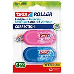 tesa Mini Roller de Correction ecoLogo x 2
