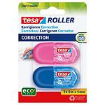 tesa Mini Roller de Correction ecoLogo x 2