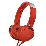 Sony MDR-XB550AP Rouge