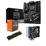 Kit Upgrade PC AMD Ryzen 7 1800X MSI X370 SLI PLUS 16 Go